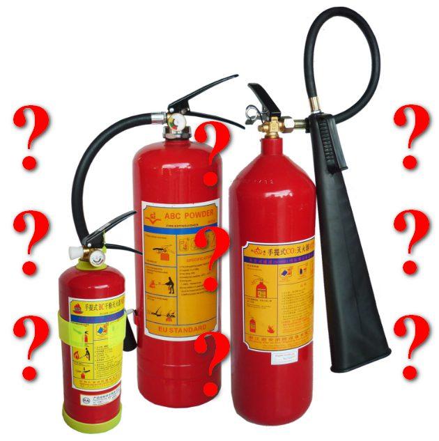 sử dụng bình chữa cháy Co2