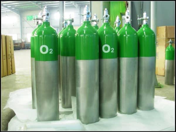 Bình khí oxy 10L