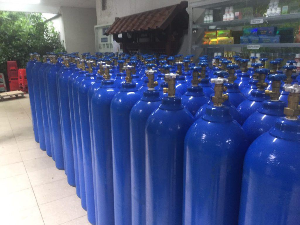 Khí oxy công nghiệp